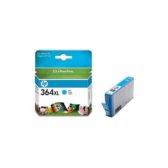 Cartouche imprimante HP Cartouche d'encre n°364XL (CB323EE) - Cyan
