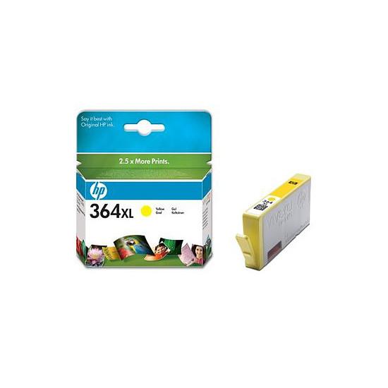 Cartouche imprimante HP Cartouche d'encre n°364XL (CB325EE) - Jaune