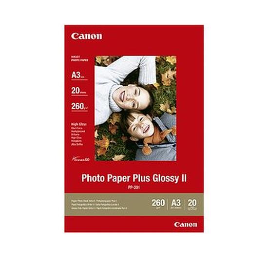 Papier imprimante Canon Papier photo plus glacé A3 - PP-201