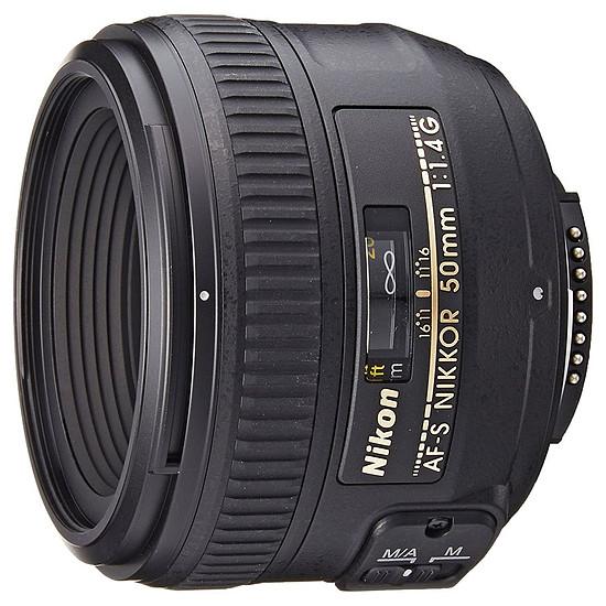 Objectif pour appareil photo Nikon AF-S FX 50mm f/1.4 G