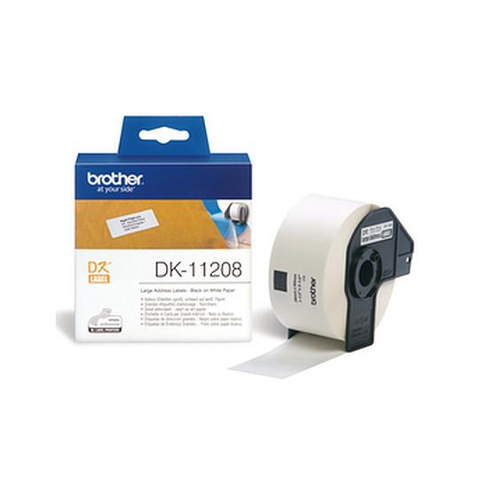 Papier imprimante Brother Étiquettes adresses DK11208