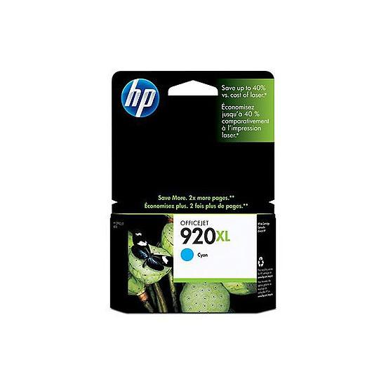 Cartouche imprimante HP Cartouche d'encre n°920XL (CD972AE) - Cyan