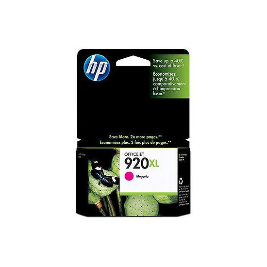 Cartouche imprimante HP Cartouche d'encre n°920XL (CD973AE) - Magenta