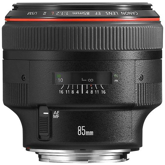 Objectif pour appareil photo Canon EF 85mm f/1.2 L II USM