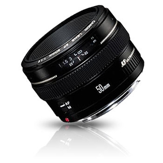 Objectif pour appareil photo Canon EF 50mm f/1.4 USM