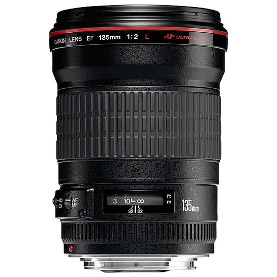 Objectif pour appareil photo Canon EF 135mm f/2L USM