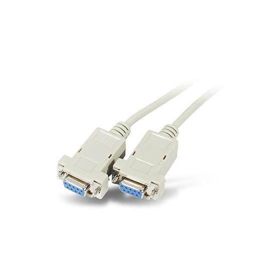 Série Câble DB9 Null Modem femelle / femelle (3 mètres) - Autre vue