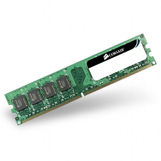 Mémoire Corsair Value Select 1 x 2 Go DDR3 PC10600
