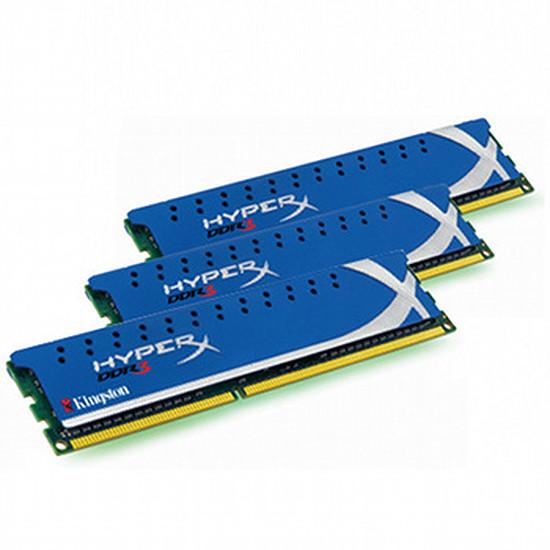 Mémoire Kingston Kit HyperX Genesis DDR3 3 x 4 Go PC12800