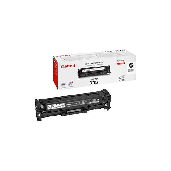 Toner imprimante Canon CRG-718 Noir