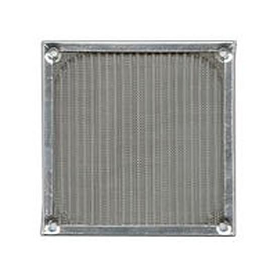 Grille ventilateur PC Filtre anti-poussière aluminium - 80 mm