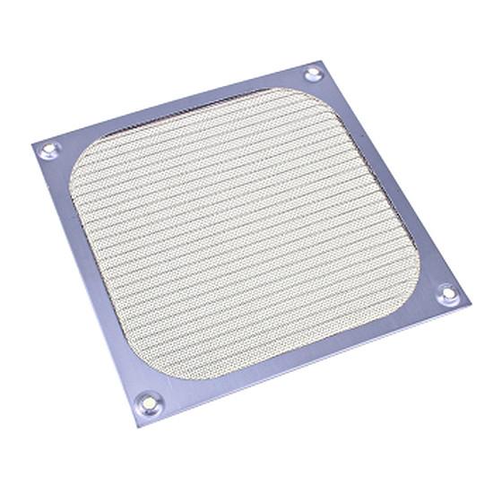 Grille ventilateur PC  Filtre anti-poussière aluminium - 140 mm