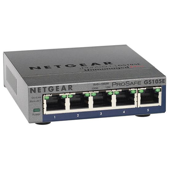 Switch et Commutateur Netgear GS105E v2
