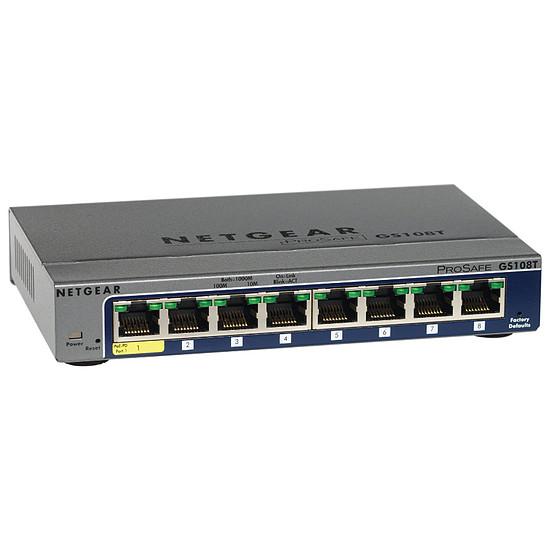 Switch et Commutateur Netgear GS108T v2
