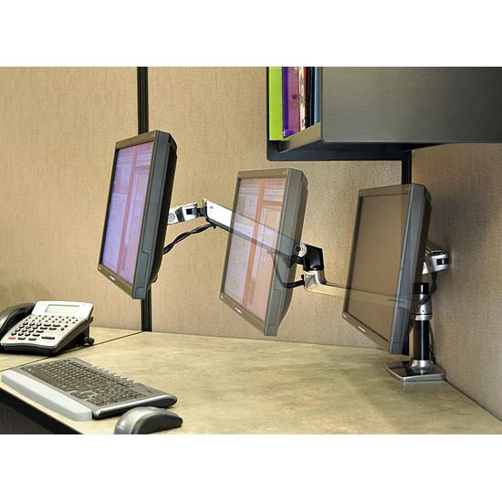 Bras & support écran PC Ergotron Bras articulé fixation bureau LX 45-241-026 - Autre vue