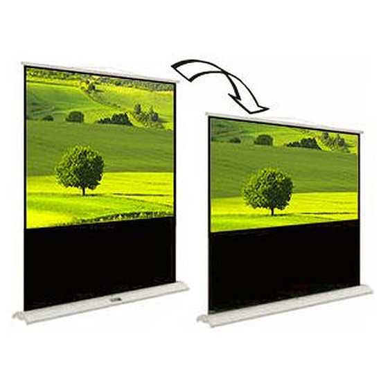 Ecran de projection Oray Ecran 16/9 - 4/3 Fly Duo 196 x 147 et 196 x 110 cm