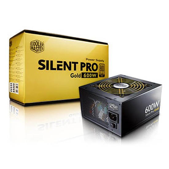 Alimentation PC Cooler Master Silent Pro Gold Modulaire - 600W