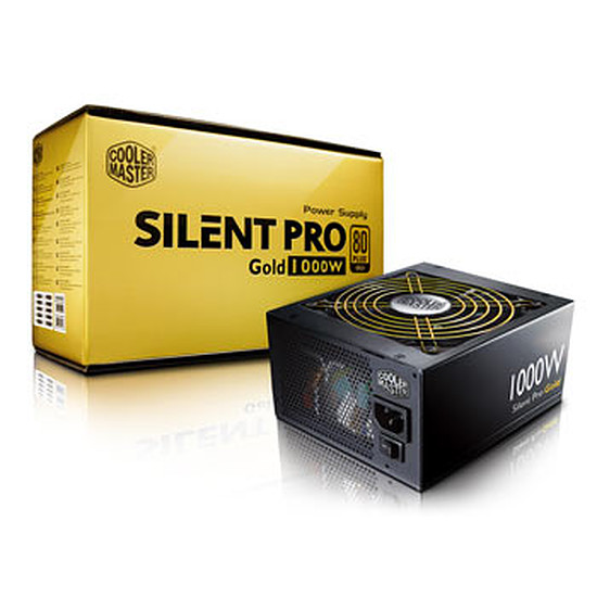 Alimentation PC Cooler Master Silent Pro Gold Modulaire - 1000W