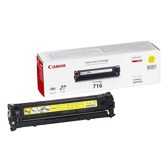 Toner imprimante Canon 716 Y