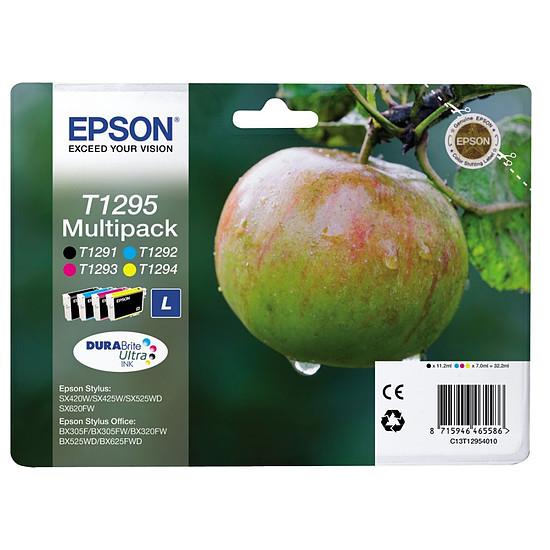 Cartouche imprimante Epson T1295 Multipack B/C/M/J - C13T12954010