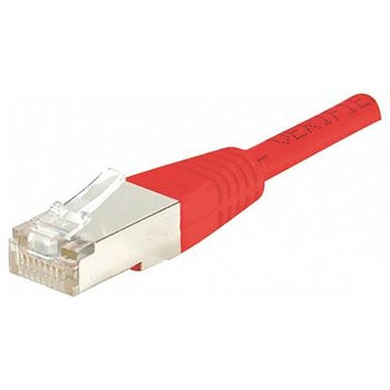 Câble RJ45  Câble Ethernet RJ45 Cat 6 FTP Rouge - 0,5 m