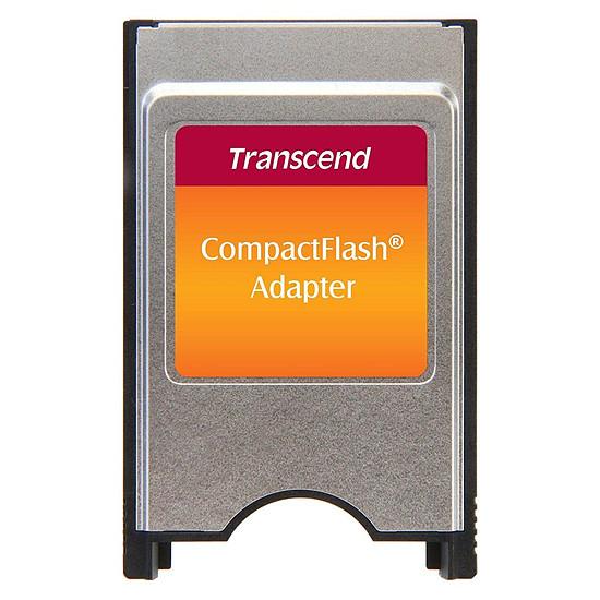Lecteur de carte mémoire Transcend Adaptateur PCMCIA vers Compact Flash