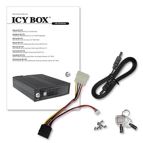 "Rack disque dur interne Icy Box Rack 3,5"" disque dur - IB-170SK-B - Autre vue"
