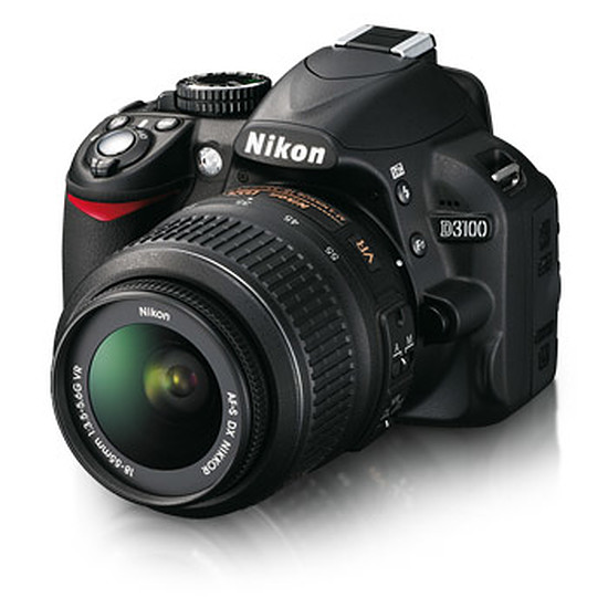 Appareil photo Reflex Nikon D3100 + AF-S DX 18-55 VR