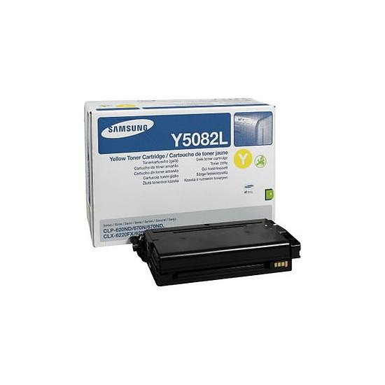 Toner imprimante Samsung CLT-Y5082L Jaune