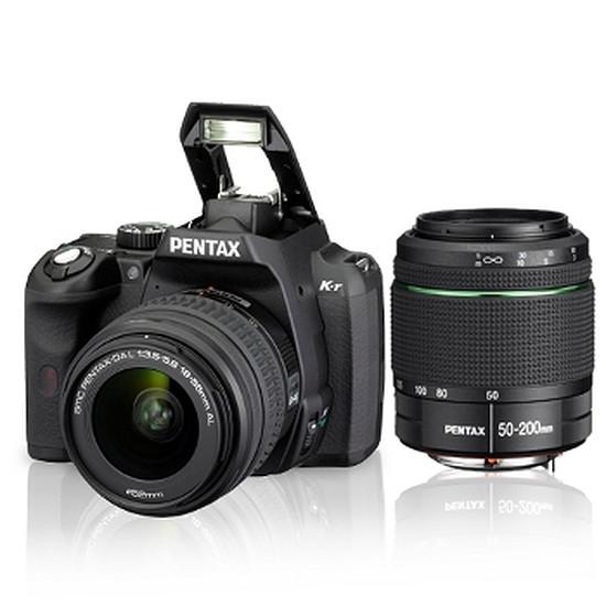 Appareil photo Reflex Pentax K-r Noir + 18-55 + 50-200 mm