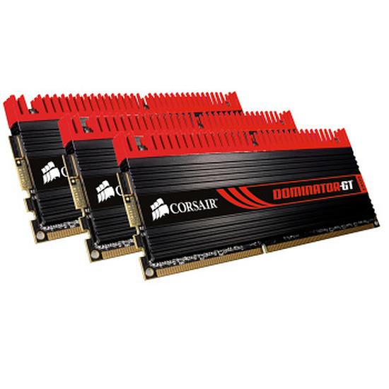 Mémoire Corsair Dominator GT 3 x 4 Go DDR3 2000 MHz CAS 9