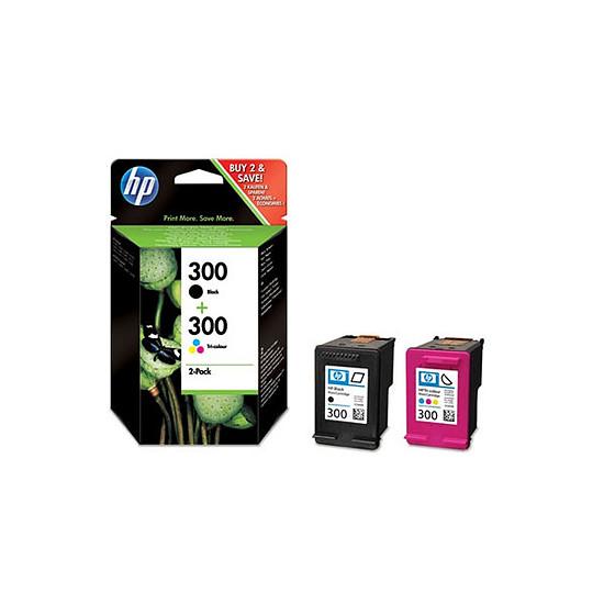 Cartouche imprimante HP Combo Pack n°300 (CN637EE) - Cartouche d'encre