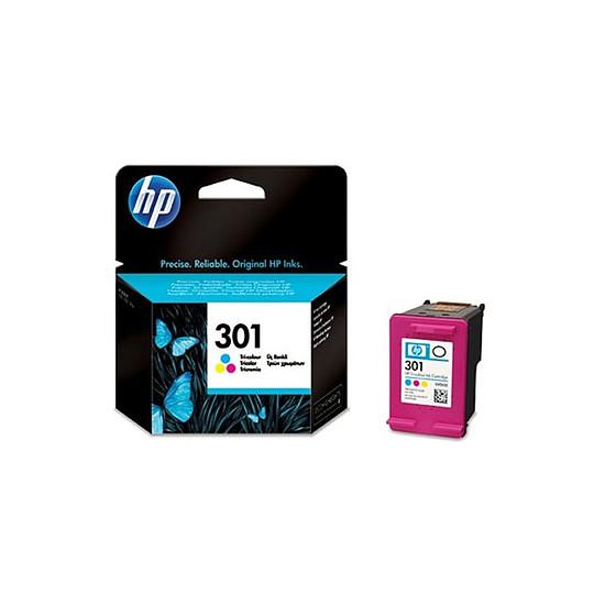 Cartouche imprimante HP Cartouche d'encre n°301 (CH562EE) - 3 couleurs