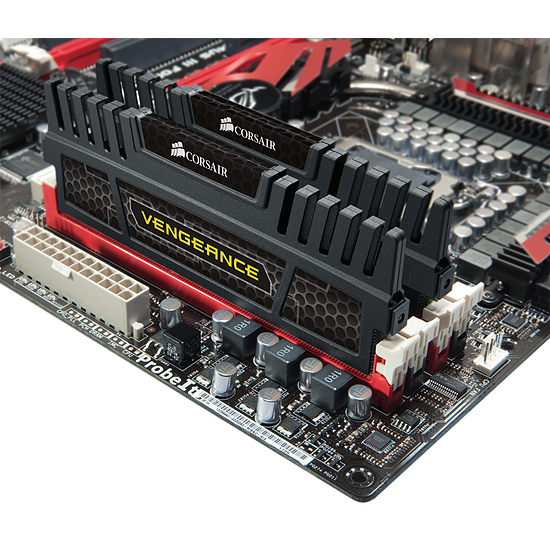 Mémoire Corsair VENGEANCE DDR3 2 x 4 Go 1600 MHz CAS 9 - Autre vue