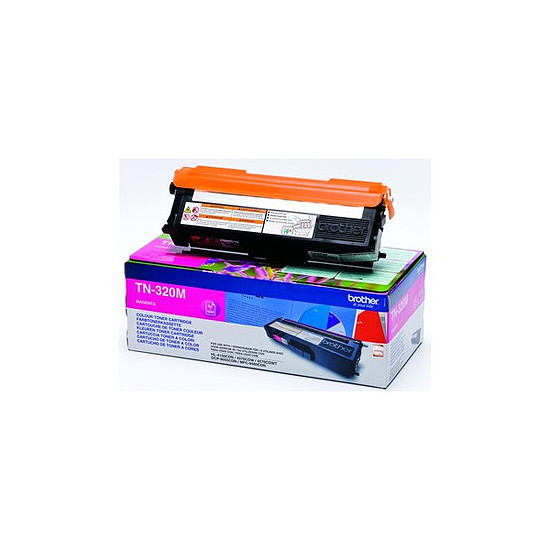Toner imprimante Brother TN-320M Magenta