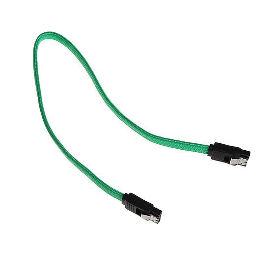 Alimentation BitFenix Alchemy Câble SATA III 6 Gb/s Vert - 30cm - Autre vue
