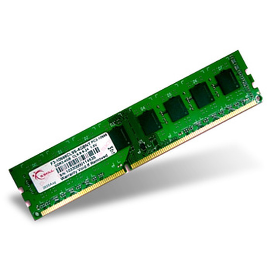 Mémoire G.Skill Value DDR3 4 Go 1333 MHz NT CAS 9
