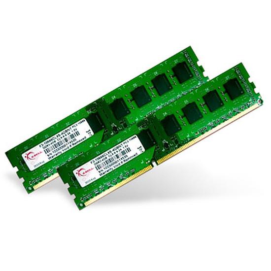 Mémoire G.Skill Value DDR3 2 x 4 Go 1333 MHz NT CAS 9