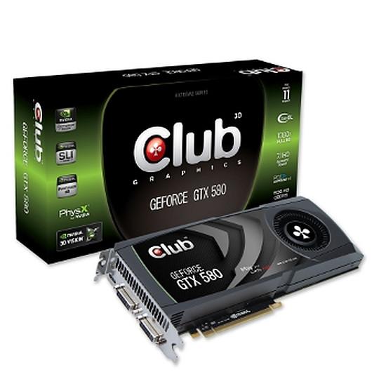 Carte graphique Club 3D GeForce GTX 580 1,5 Go