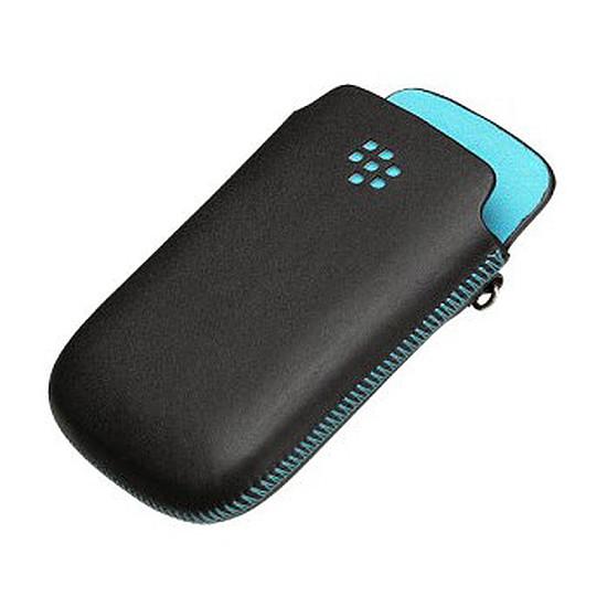 Coque et housse BlackBerry Etui Leather Pocket pour BlackBerry Curve et Bold
