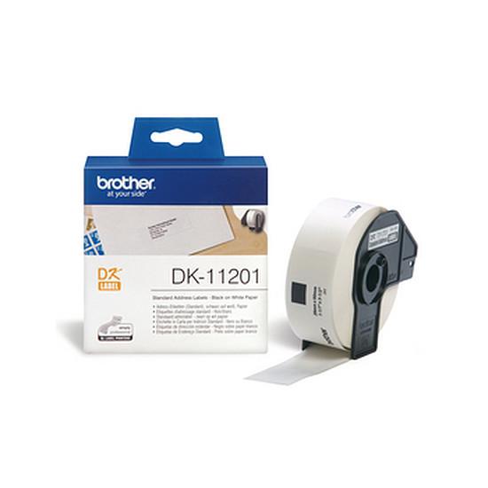 Papier imprimante Brother Étiquettes adresses DK11201