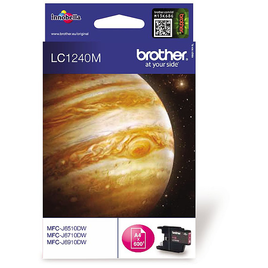 Cartouche d'encre Brother LC1240M Magenta