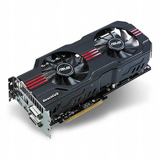 Carte graphique Asus ENGTX570 DCII/2DIS/1280M (GeForce GTX 570 1,25 Go)