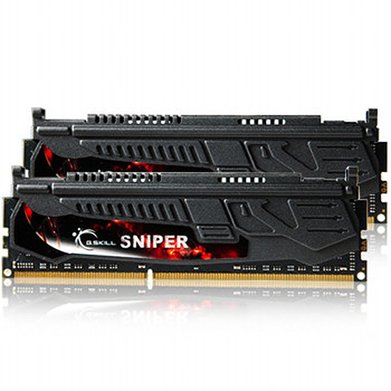 Mémoire G.Skill Extreme3 Sniper DDR3 2 x 4 Go 1600 MHz CAS 9