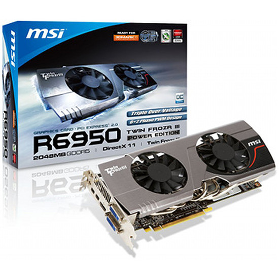 Carte graphique MSI R6950 Twin Frozr III Power Edition/OC