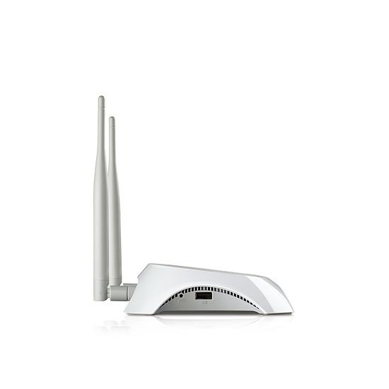 Routeur et modem TP-Link TL-MR3420 - Routeur 3G/4G WiFi N 300Mbps  - Autre vue