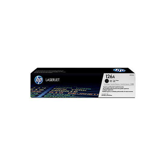Toner imprimante HP 126A - CE310A Noir