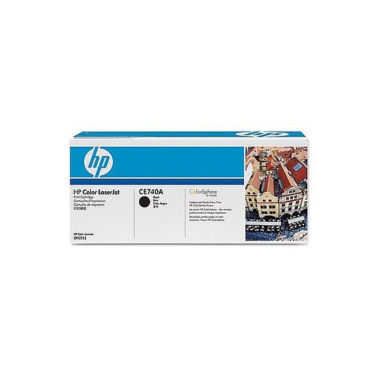 Toner imprimante HP 307A - CE740A Noir