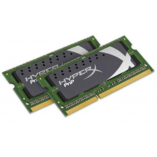 Mémoire Kingston SO-DIMM DDR3 HyperX PnP 2 x 4 Go PC15000