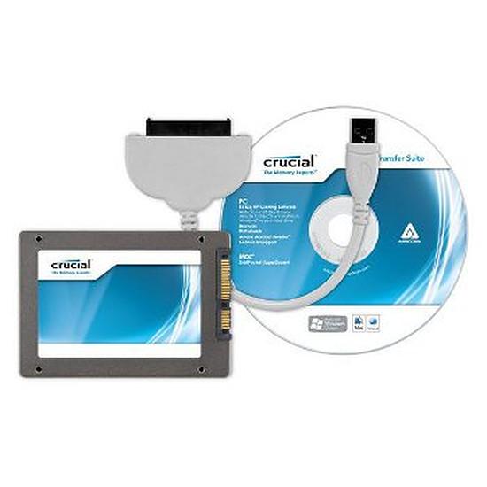 Disque SSD Crucial M4 64 Go SATA Revision 3.0 + kit de transfert